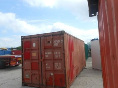 SHIPPING CONTAINERS 20ft original doors 36424