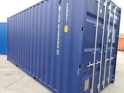 SHIPPING CONTAINERS 20ft high cube MTBU0205957 click to zoom image