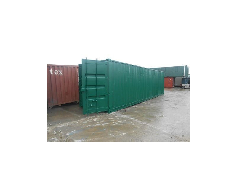 SHIPPING CONTAINERS 28ft long with S2 doors 18364 click to zoom image