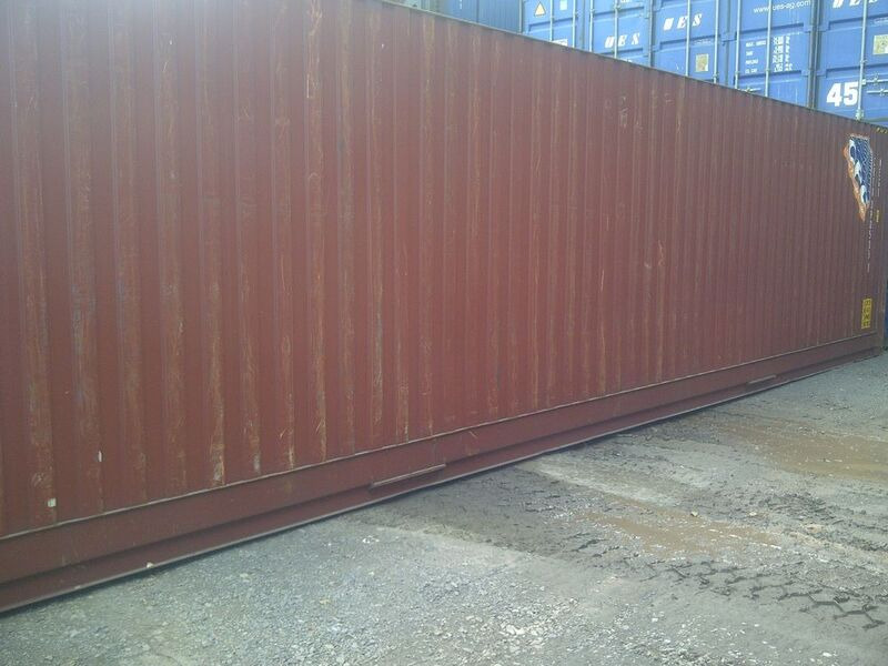 SHIPPING CONTAINERS 40ft ISO 27901 click to zoom image