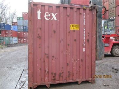 SHIPPING CONTAINERS 40ft high cube 65259 click to zoom image