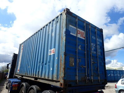 SHIPPING CONTAINERS 20ft ISO PCIU3021100 click to zoom image