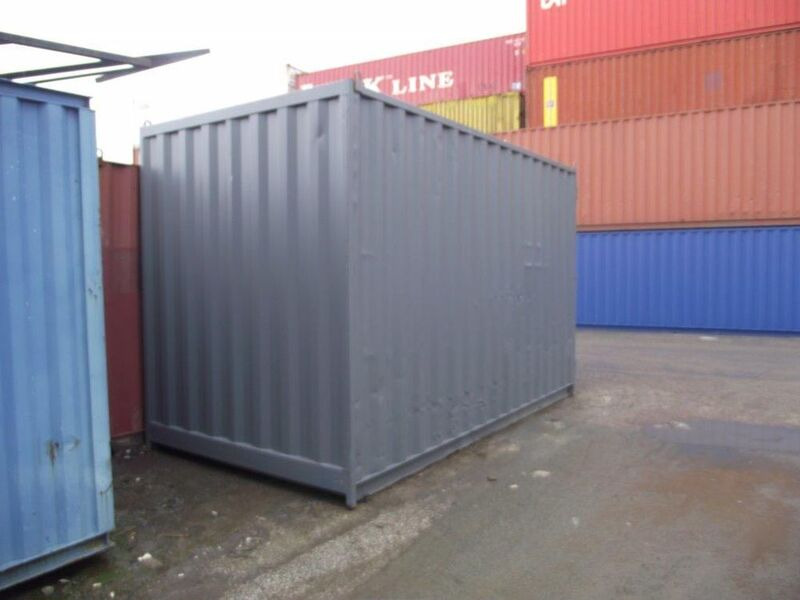 SHIPPING CONTAINERS 16ft high cube 18477 click to zoom image