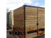CLADDED SHIPPING CONTAINERS CLEAN CUT