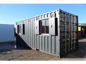 SHIPPING CONTAINER WINDOWS