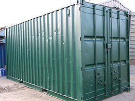 20ft Shipping Containers - Used