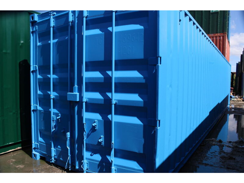30ft New Shipping Containers 30ft Once-Used - S2 Doors click to zoom image