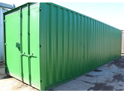 30ft New Shipping Containers 30ft Once-Used - S3 Doors