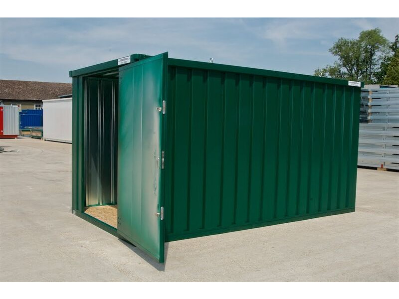 Flat Pack Containers Liverpool Self Assembly Container P3M click to zoom image
