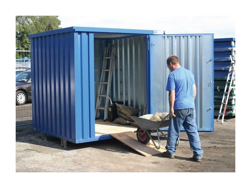 Flat Pack Containers Manchester Self Assembly Container P2M click to zoom image