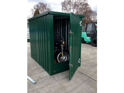 Flat Pack Containers Bike Store 2.5m x 1.5m click to zoom image