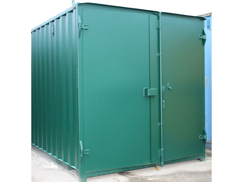 24ft New Shipping Containers 24ft Container - S1 Doors click to zoom image