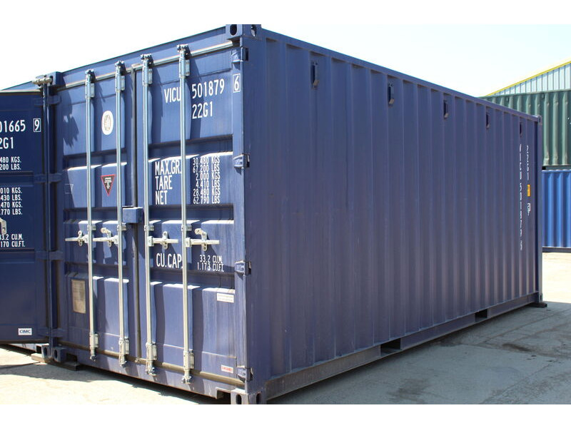 24ft New Shipping Containers 24ft Container - S2 Doors click to zoom image