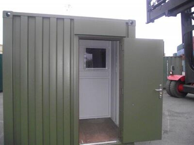 Shipping Container Conversions 20ft partitioned