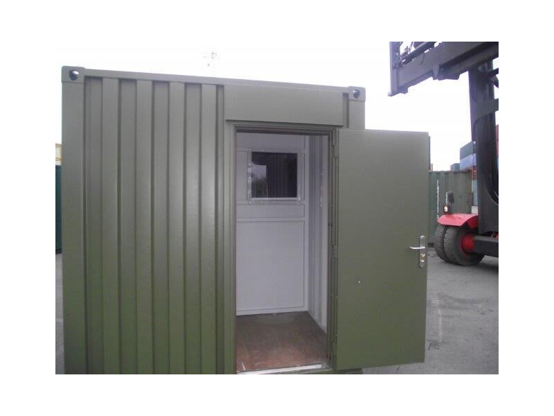 Shipping Container Conversions 20ft partitioned click to zoom image