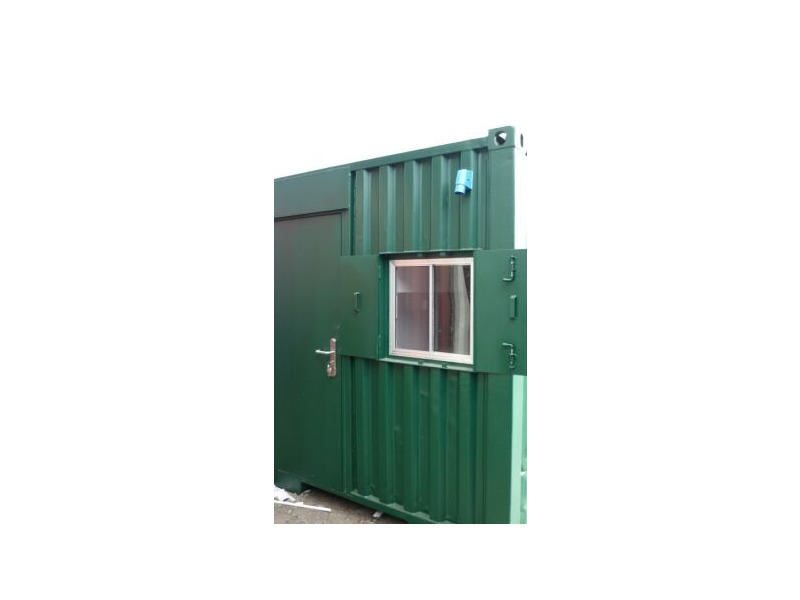 Shipping Container Conversions 15ft canteen/toilet click to zoom image
