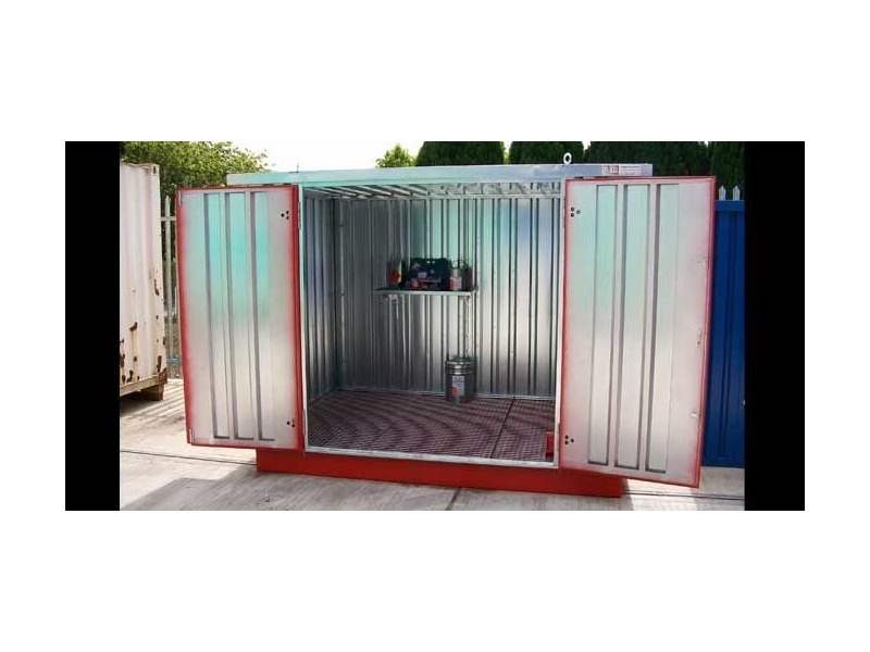Chemical Storage Containers For Sale Chemical Store 3m x 2.1m C2 click to zoom image