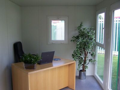 STEEL GARDEN OFFICE 10ft / 3.3m x 2.3m