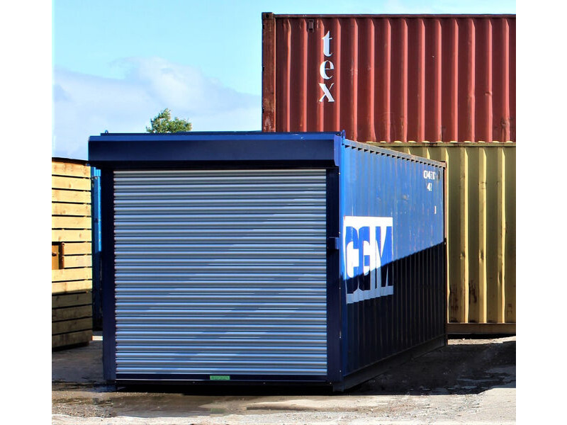 20ft Used Shipping Containers 20ft Used - S4 Doors click to zoom image
