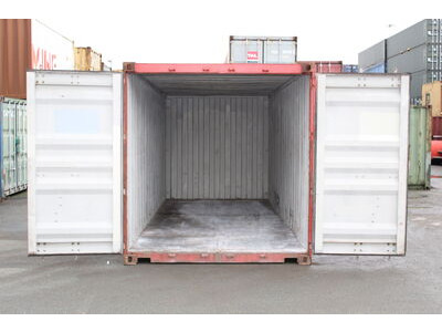 20ft Used Shipping Containers 20ft S2 doors click to zoom image
