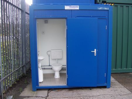 Double Portable Toilet Containers Direct