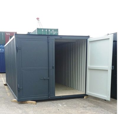 Container Conversion Case Studies 20ft X 10ft Extra Wide