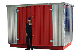 Flat pack chemical stores  sc 1 st  CONTAINERS DIRECT & FLAT PACK CONTAINERS LONDON :: CONTAINERS DIRECT