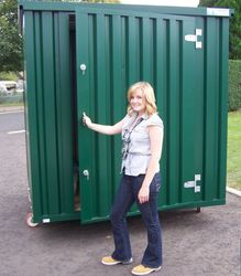 FOLDABLE STEEL STORAGE CONTAINERS CONTAINERS DIRECT