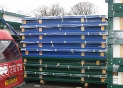 We are able to offer low price delivery rates on flat pack products as they are transported in bulk in a compact form. We also hold them in stock at ... & FLAT PACK CONTAINERS FOR SALE :: CONTAINERS DIRECT