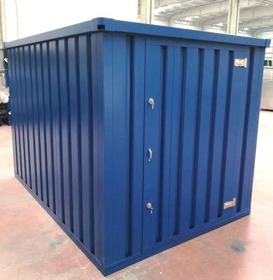 Flat Pack Containers For, Galvanised Storage Container