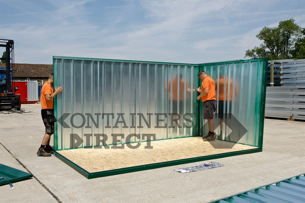 Flat Pack Containers For Sale Expandastore Containers Direct