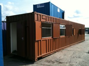 shipping containers office. Unlike Buying A New Car You Have The Option Of Not Just Picking One Off Shelf, Like This Selection Offices And Canteens But Shipping Containers Office