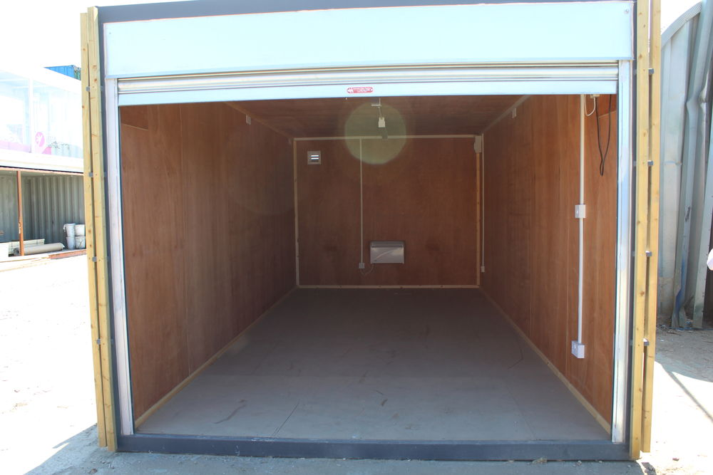 10ft Wide Garage Container Containers Direct