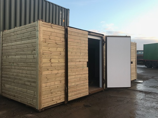 CLADDED SHIPPING CONTAINERS SEAMLESS SHIPLAP | Containers Direct