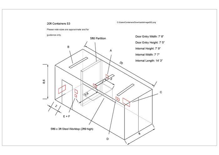 container conversion case studies 20ft workshop cs22338